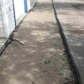 walkway before